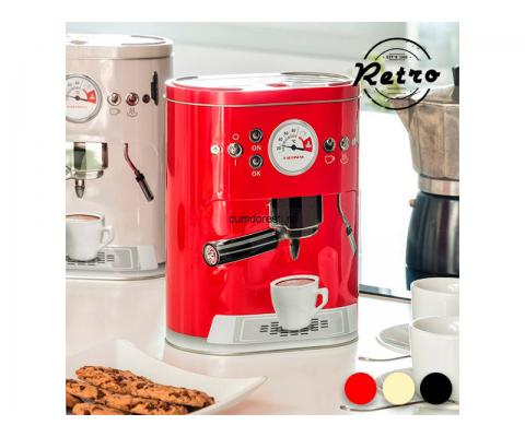 Cutie de Metal Vintage Coffee Machine