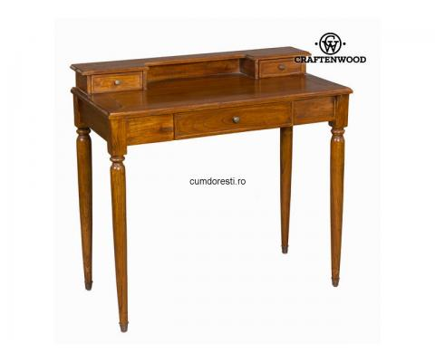 Birou Lemn Nuc - Serious Line Colectare by Craftenwood
