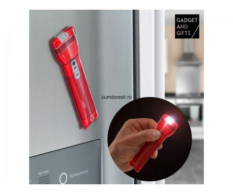 Lanternă LED cu Magnet Gadget and Gifts