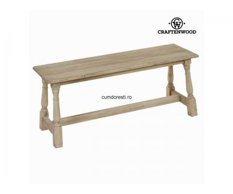 Bancă din lemn - Pure Life Colectare by Craftenwood