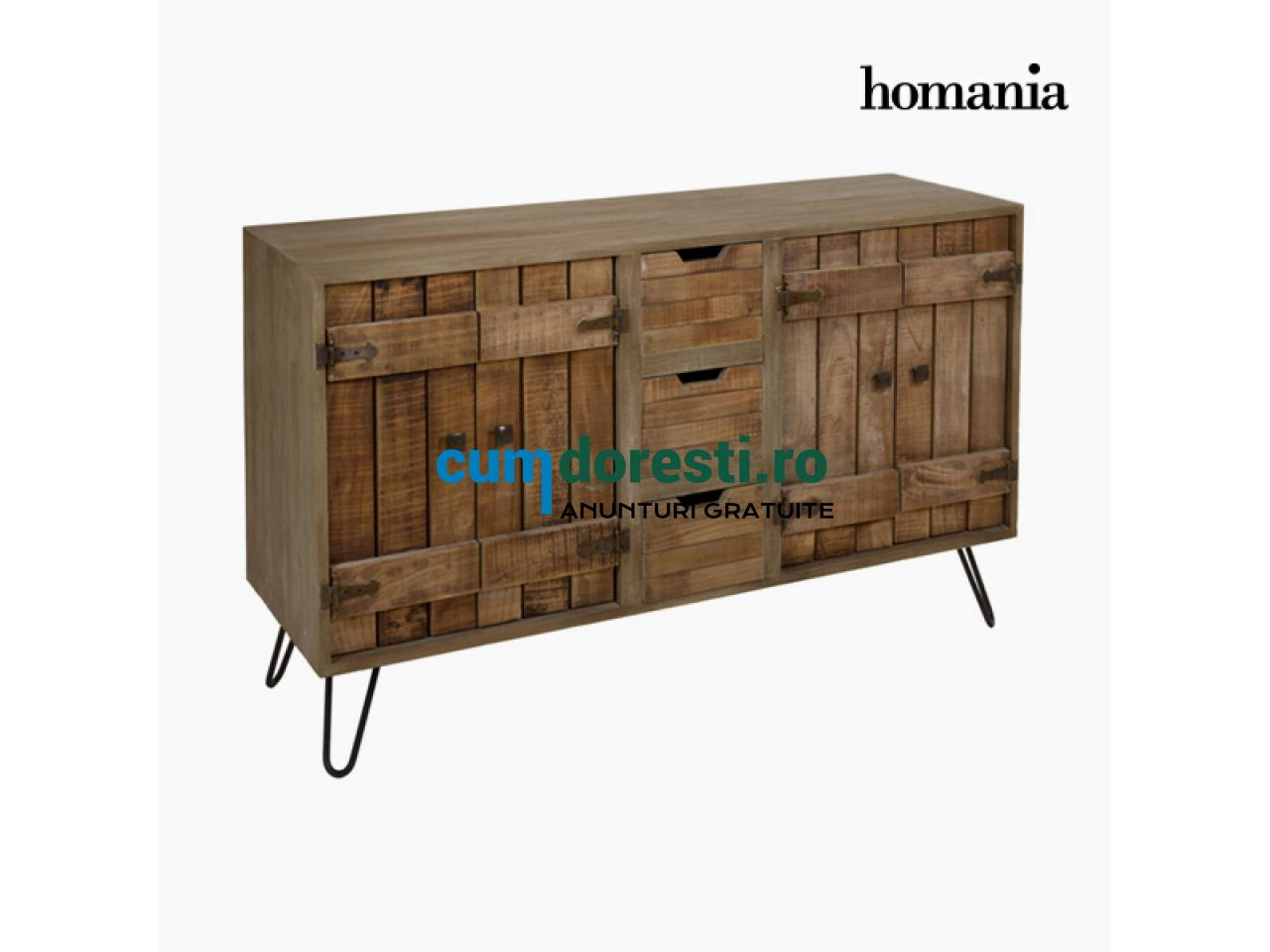 Servantă Lemn mindi (140 x 45 x 87 cm) - Be Yourself Colectare by Homania