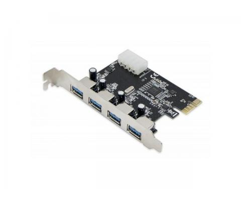 Placa PCI-Express 1.0 adaptor la 2 x USB 3.0, pci-e usb3, ACTIVE ACT-17472