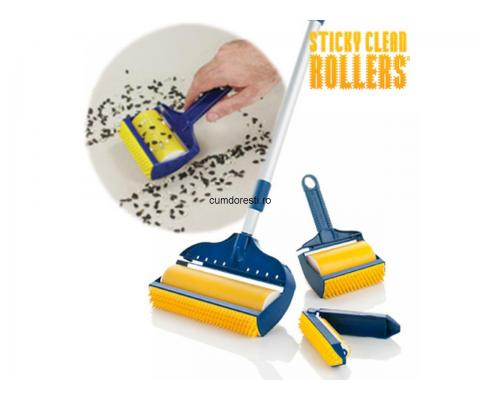 Role Adezive Sticky Clean Rollers (3Buc)